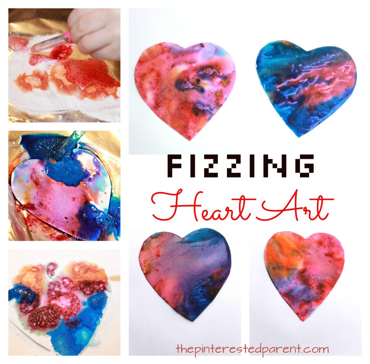 Fizzing Heart Art Eruptions